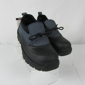 Lands' End Duck Shoes Boots 7.5 Black Gray Hiking